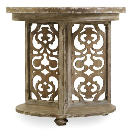 Living Room Chatelet Round Accent Table