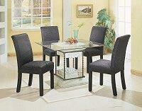 Square Glass Dining Table Top
