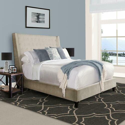 ELAINA - PORCELAIN California King Bed 6/0
