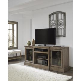 See Details - 74 Inch Console - Antique Mist Finish