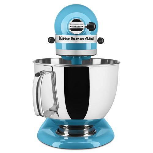 KitchenAid - Artisan® Series 5 Quart Tilt-Head Stand Mixer Crystal Blue