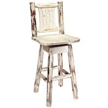Homestead Collection Swivel Barstool