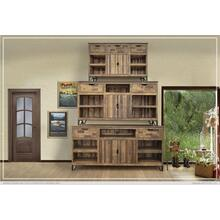 "60"" TV Stand w/ 3 Drawer, 2 Doors & 3 Shelves"