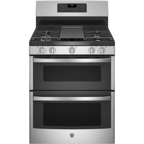 """GE Appliances - GE® 30"""" Free-Standing Gas Double Oven Convection Range"""