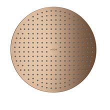 Brushed Red Gold Overhead shower 300 1jet ceiling