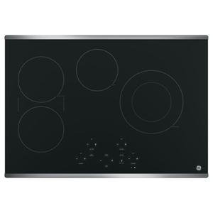 "GE® 30"" Built-In Touch Control Electric Cooktop Product Image"