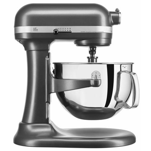 KitchenAid - Professional 600™ Series 6 Quart Bowl-Lift Stand Mixer - Dark Pewter