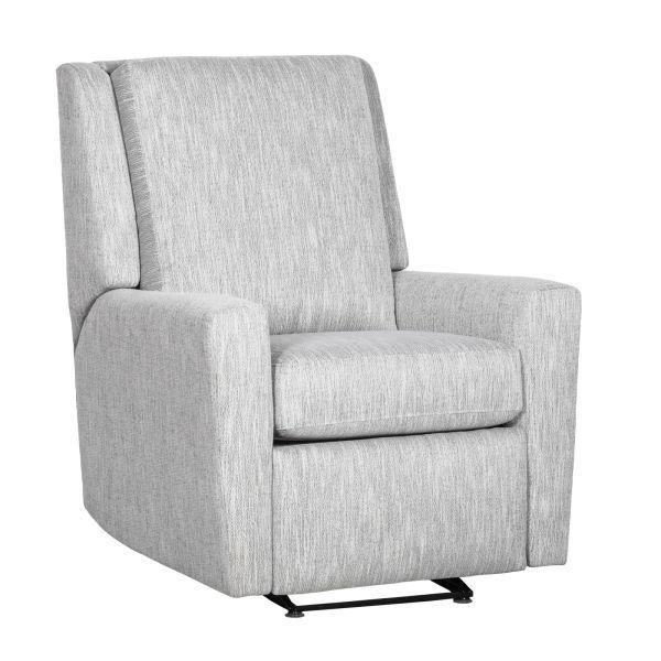 Senior Living Solutions Modern Arm Manual Push Back Glider Recliner