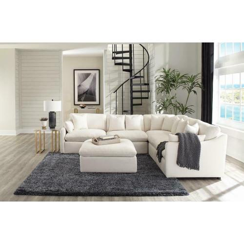 Off White 5PC Sectional