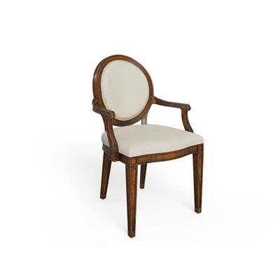 Hillside Oval Arm Chair - Chestnut
