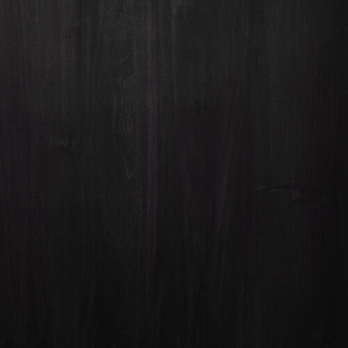 Black Wash Poplar Finish Trey 7 Drawer Dresser