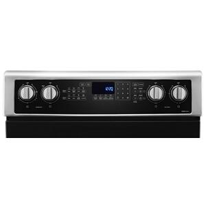 Whirlpool - 6.7 Cu. Ft. Electric Double Oven Range with True Convection