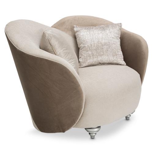 Camelia Chair and Half Platinum