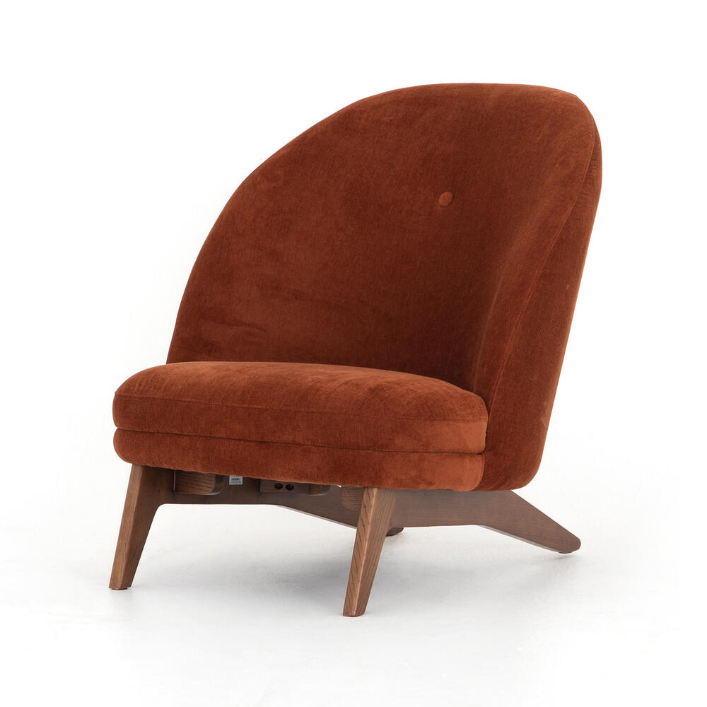 Dorsett Rust Cover Georgia Chair