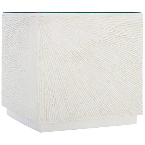 Tenerife Coco Twig Cube End Table