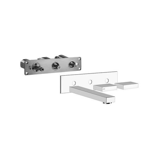 Gessi - Trim parts wall-mounted washbasin mixer, medium spout