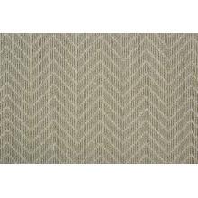 Lustrous Chevron Chvr Ash Broadloom Carpet