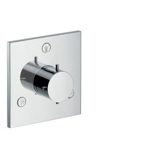 Chrome Shut-off/ diverter valve Trio/ Quattro for concealed installation Product Image