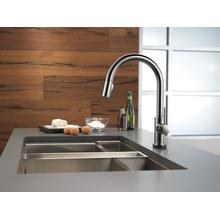 Black Stainless Single Handle Pull-Down Kitchen Faucet with Touch