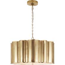 Alexa Hampton Markos 4 Light 26 inch Natural Brass Pendant Ceiling Light