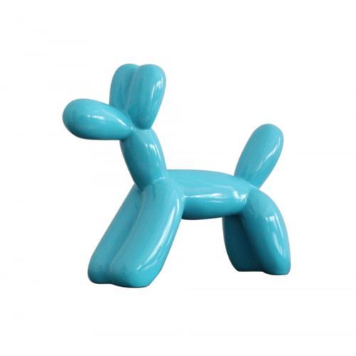 Gallery - Modrest Modern Blue Balloon Dog Sculpture