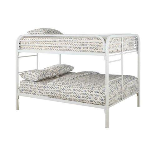 Fordham White Full-over-full Bunk Bed