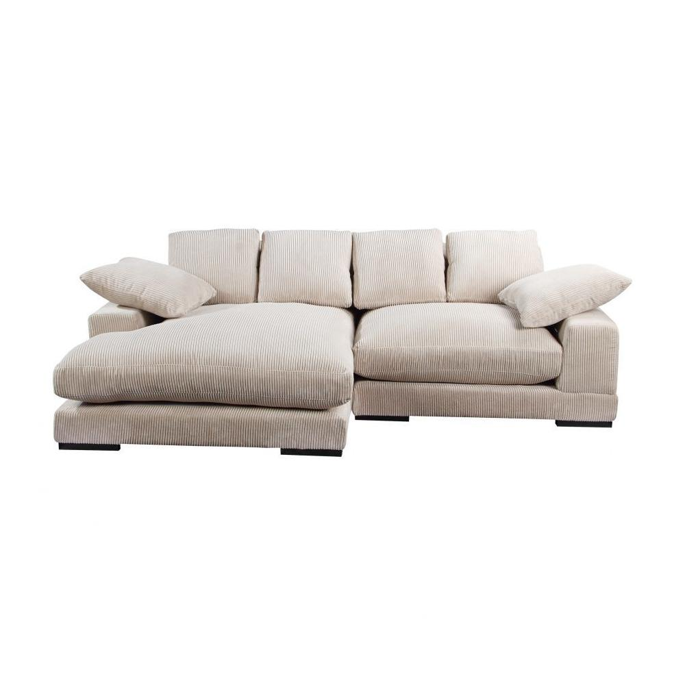 See Details - Plunge Sectional Cappuccino