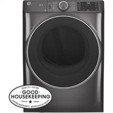 ®7.8 cu. ft. Capacity Smart Front Load Electric Dryer with Sanitize Cycle