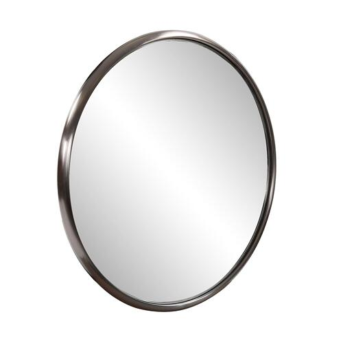 Howard Elliott - Yorkville Titanium Small Round Mirror