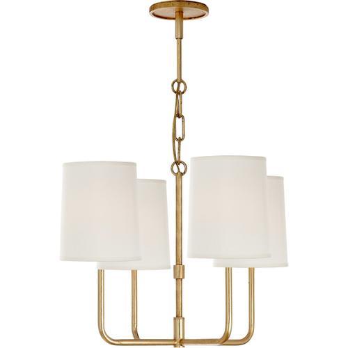 Barbara Barry Go Lightly 4 Light 20 inch Gild Chandelier Ceiling Light
