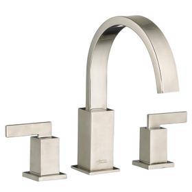 Times Square Deck-Mount Bathtub Faucet  American Standard - Brushed Nickel