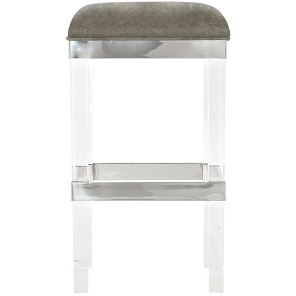 Tori Leather Bar Stool