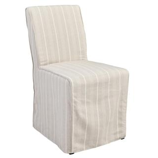 See Details - Amaya Upholstered Dining Chair Striped