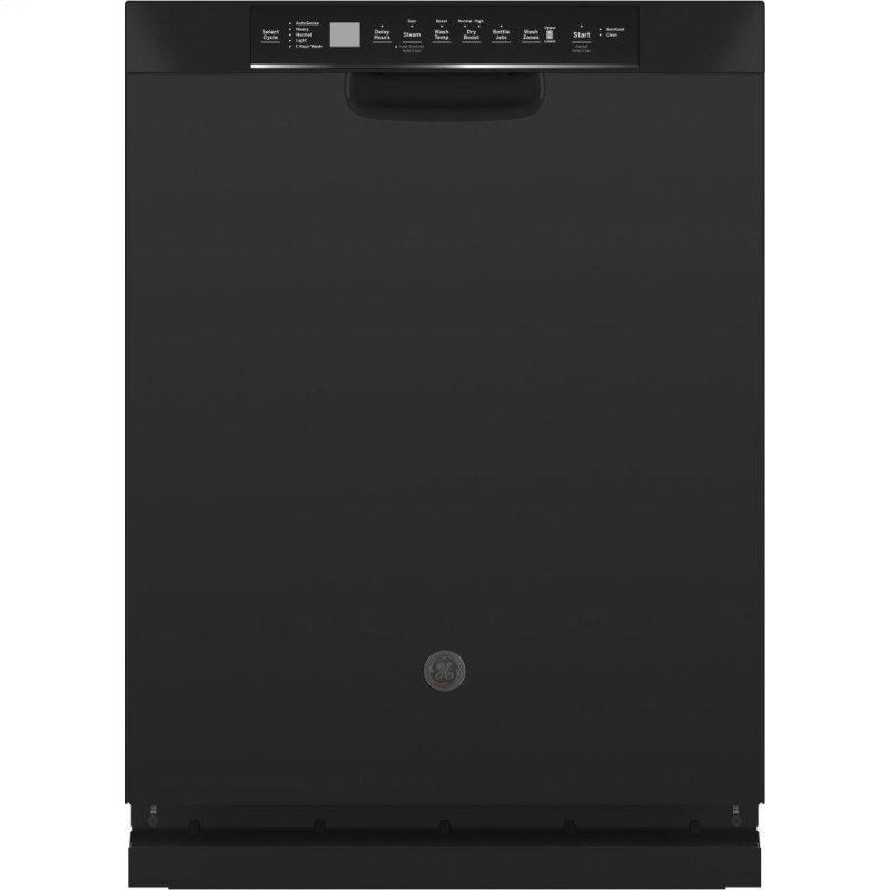 ®Front Control with Stainless Steel Interior Dishwasher with Sanitize Cycle & Dry Boost