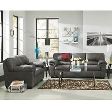 See Details - Signature Design by Ashley Bladen Living Room Set in Slate Faux Leather