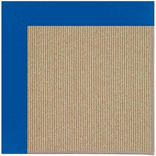 Creative Concepts-Sisal Canvas Pacific Blue Machine Tufted Rugs