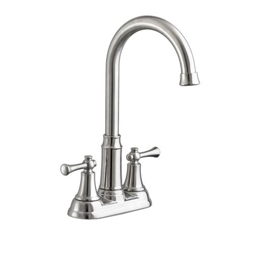 Portsmouth 2-Handle 1.5 GPM High-Arc Bar Sink Faucet  American Standard - Stainless Steel