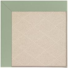 "Creative Concepts-White Wicker Canvas Celadon - Rectangle - 24"" x 36"""