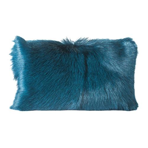 Moe's Home Collection - Goat Fur Bolster Teal