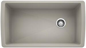 Diamond Super Single Bowl - Concrete Gray Product Image