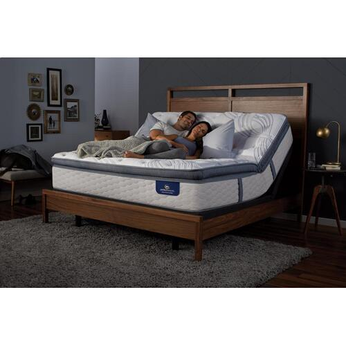 Perfect Sleeper - Elite - Delevan - Super Pillow Top - Firm - Queen
