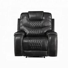 ACME Braylon Recliner (Motion) - 55412 - Contemporary - PU, Frame: Wood (Hemlock/Fir, Ply), Foam (D28), Metal Reclining Mechanism - Magnetite PU