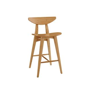 See Details - Cosmos Bar Height Stool, Caramelized, (Set of 2)