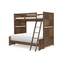 View Product - Summer Camp - Brown Twin over Full Bunk Bed