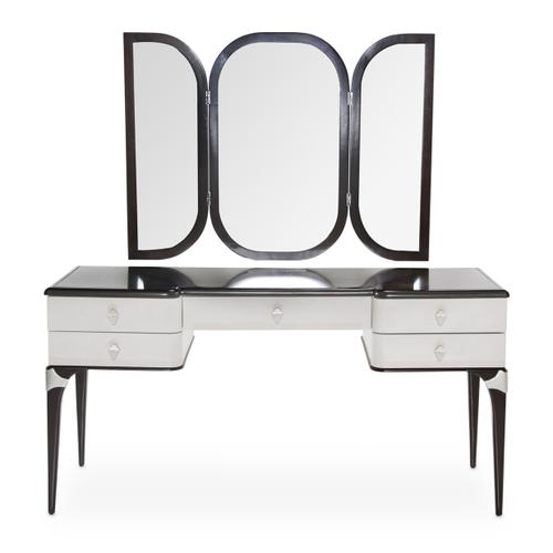 Vanity Desk W/mirror 2 PC