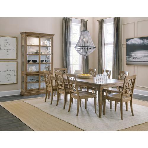 Dining Room Montebello Sliding Door Display Cabinet