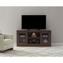 See Details - 68 Inch Console - Storm Gray Finish