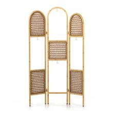 See Details - Tularosa Hanging Plant Stand-faux Rattan