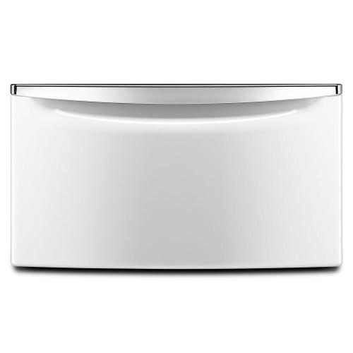 """Maytag Canada - 15.5"""" (39.37 cm) Laundry Pedestal with Chrome Handle and Storage Drawer"""