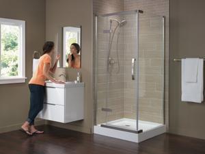 """High Gloss White 36"""" x 36"""" Shower Base Product Image"""